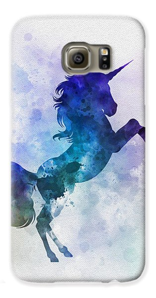 Unicorn Galaxy S6 Case by Rebecca Jenkins