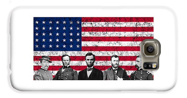 Union Heroes And The American Flag Galaxy S6 Case