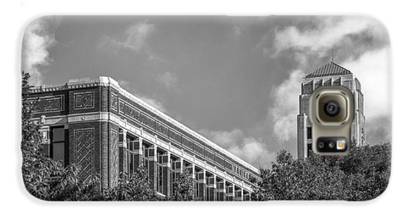 University Of Michigan Natural Sciences Building With Burton Tower Galaxy S6 Case by University Icons