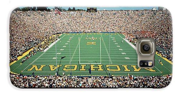 University Of Michigan Stadium, Ann Galaxy S6 Case by Panoramic Images