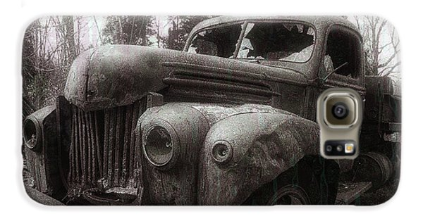 Truck Galaxy S6 Case - Unquiet Slumbers For The Sleeper by Jerry LoFaro