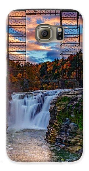 Upper Falls Letchworth State Park Galaxy S6 Case