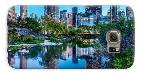 Landscapes Galaxy S6 Case - Urban Oasis by Az Jackson