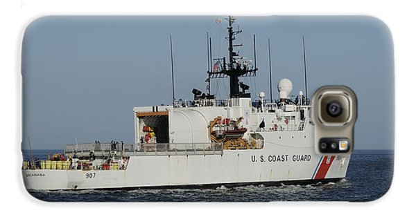 Uscgc Escanaba Heads To Sea Galaxy S6 Case