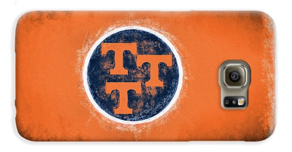 Galaxy S6 Case featuring the digital art Ut Tennessee Flag by JC Findley