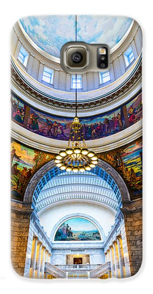 Utah State Capitol Rotunda #2 Galaxy S6 Case