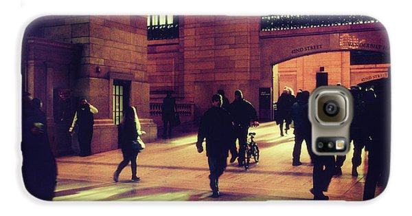 Galaxy S6 Case featuring the photograph Grand Central Rush by Jessica Jenney