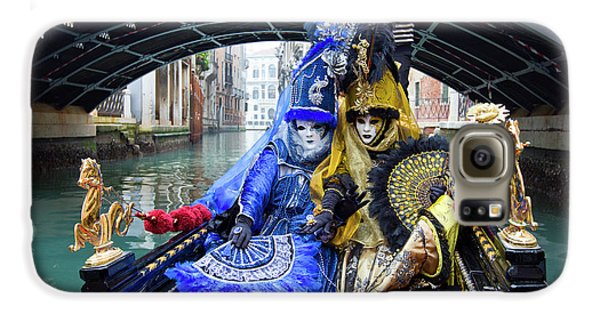 Venetian Ladies On A Gondola Galaxy S6 Case