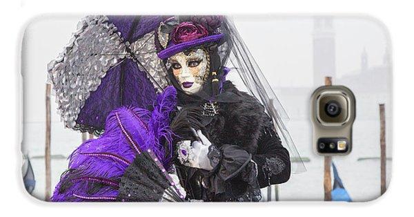 Venetian Lady In Purple Galaxy S6 Case