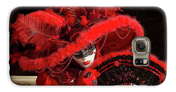 Venetian Lady In Red I  Galaxy S6 Case