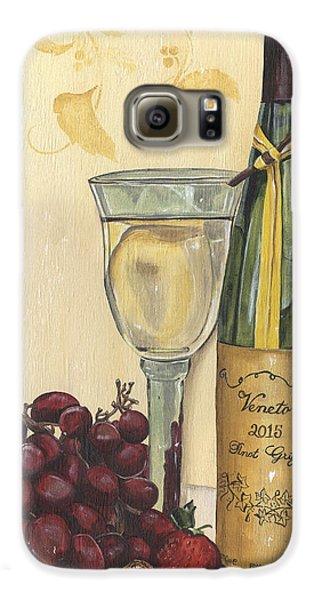 Strawberry Galaxy S6 Case - Veneto Pinot Grigio by Debbie DeWitt