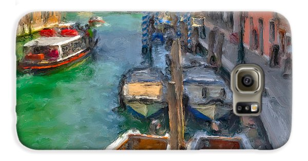Venezia. Cannaregio Galaxy S6 Case by Juan Carlos Ferro Duque