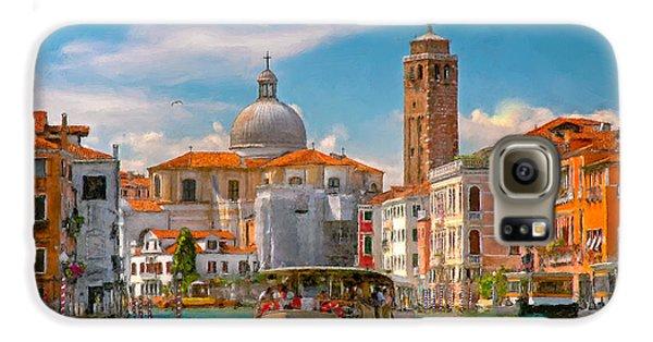 Venezia. Fermata San Marcuola Galaxy S6 Case by Juan Carlos Ferro Duque