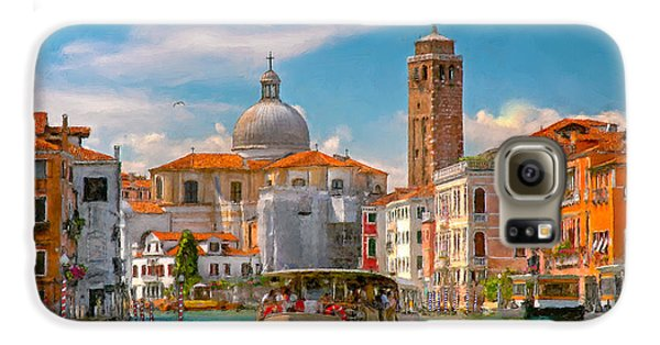 Venezia. Fermata San Marcuola Galaxy S6 Case