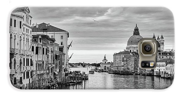 Galaxy S6 Case featuring the photograph Venice Morning by Richard Goodrich
