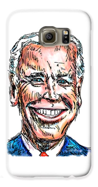 Vice President Joe Biden Galaxy S6 Case by Robert Yaeger