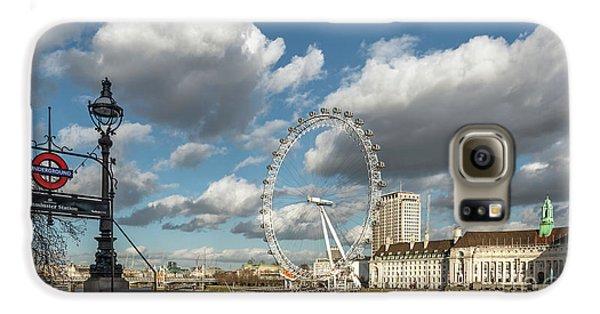 Victoria Embankment Galaxy S6 Case by Adrian Evans