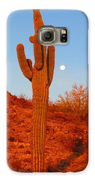 Victor's Harvest Moonset Galaxy S6 Case