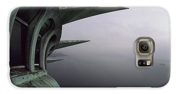Statue Of Liberty Galaxy S6 Case - View Of New York Harbor From The Top by Paul Chesley