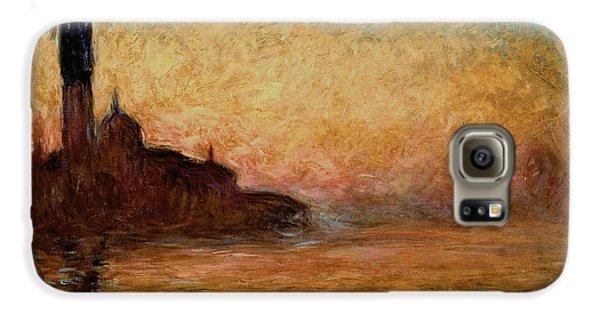 View Of San Giorgio Maggiore Galaxy S6 Case by Claude Monet