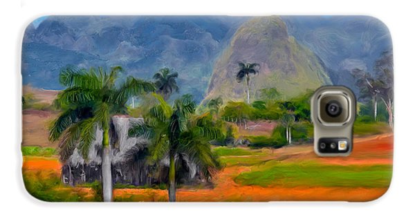 Vinales Valley. Cuba Galaxy S6 Case