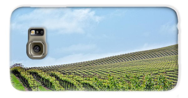 Vineyard Hillside Galaxy S6 Case by Kim Wilson