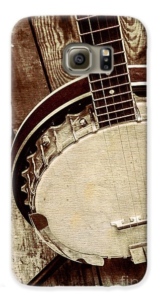 Vintage Banjo Barn Dance Galaxy S6 Case by Jorgo Photography - Wall Art Gallery