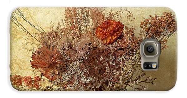 Galaxy S6 Case featuring the photograph Vintage Bouquet by Jessica Jenney