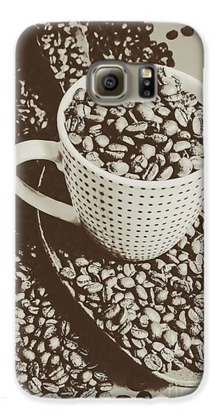 Vintage Coffee Art. Stimulant Galaxy S6 Case by Jorgo Photography - Wall Art Gallery