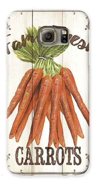 Vintage Fresh Vegetables 3 Galaxy S6 Case by Debbie DeWitt