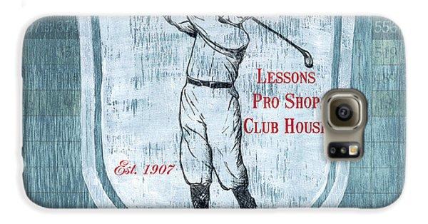 Vintage Golf Blue 1 Galaxy S6 Case