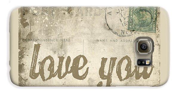 Vintage Love Letters Galaxy S6 Case