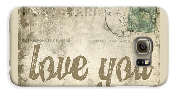 Vintage Love Letters Galaxy S6 Case