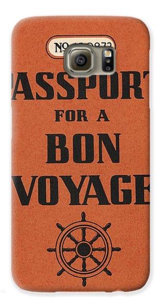 Travel Galaxy S6 Case - Vintage Passport by Gillham Studios