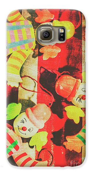 Galaxy S6 Case featuring the photograph Vintage Pull String Puppets by Jorgo Photography - Wall Art Gallery