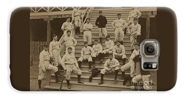 Baseball Players Galaxy S6 Case - Vintage Saint Louis Baseball Team Photo by American School