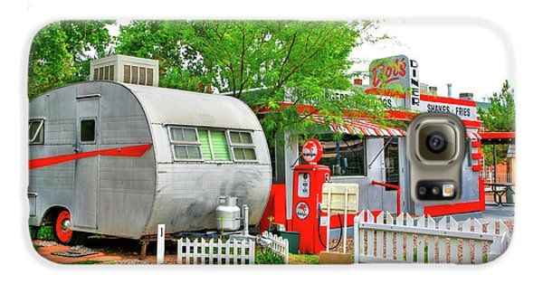 Vintage Trailer And Diner In Bisbee Arizona Galaxy S6 Case