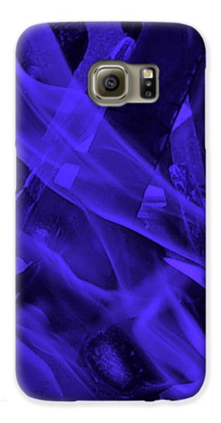 Galaxy S6 Case - Violet Shine I I by Orphelia Aristal