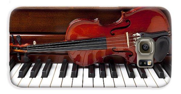 Violin On Piano Galaxy S6 Case