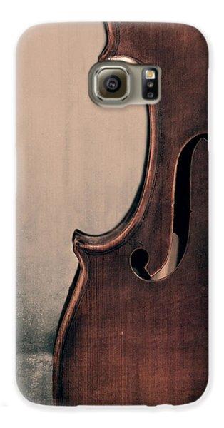 Violin Galaxy S6 Case - Violin Portrait  by Emily Kay