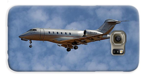 Jet Galaxy S6 Case - Vista Jet Bombardier Challenger 300 1 by Smart Aviation