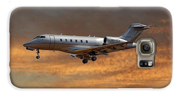Jet Galaxy S6 Case - Vista Jet Bombardier Challenger 300 3 by Smart Aviation