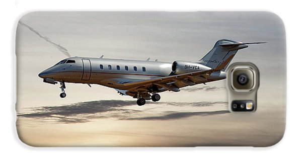 Jet Galaxy S6 Case - Vista Jet Bombardier Challenger 300 by Smart Aviation