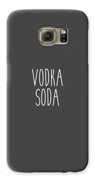 Vodka Soda Galaxy S6 Case by Cortney Herron