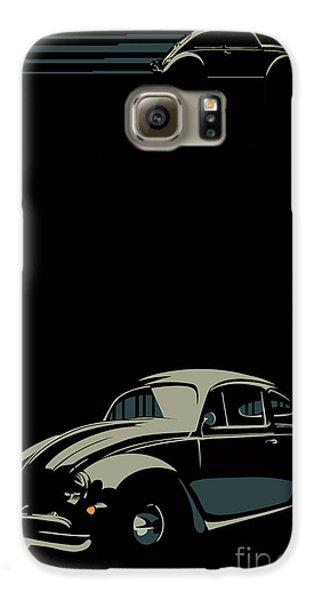 Automobile Galaxy S6 Case - Vw Beatle by Sassan Filsoof