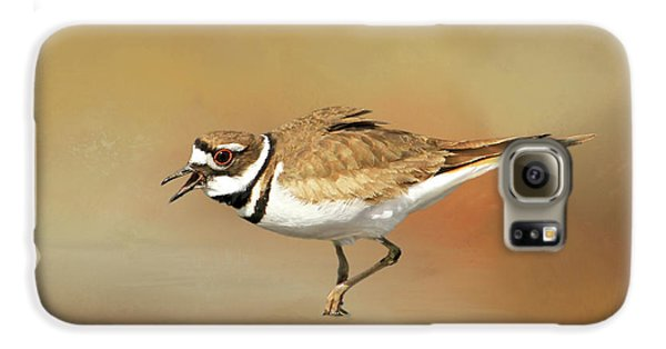 Wading Killdeer Galaxy S6 Case by Donna Kennedy