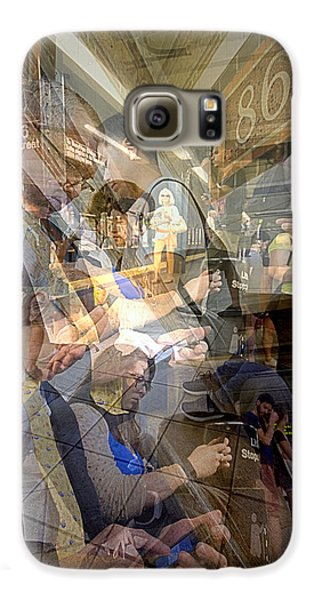 Waiting For 6 Train Collage Galaxy S6 Case by Dave Beckerman