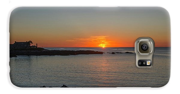 George Bush Galaxy S6 Case - Walkers Point Kennebunkport Maine by Bill Cannon
