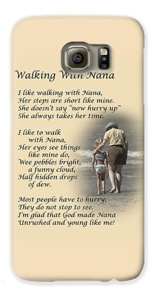 Walking With Nana Galaxy S6 Case