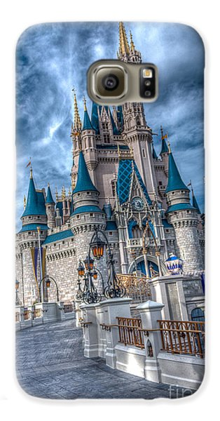 Walkway To Cinderellas Castle Galaxy S6 Case